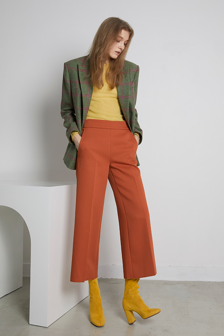 Magic Wide Pants - Orange